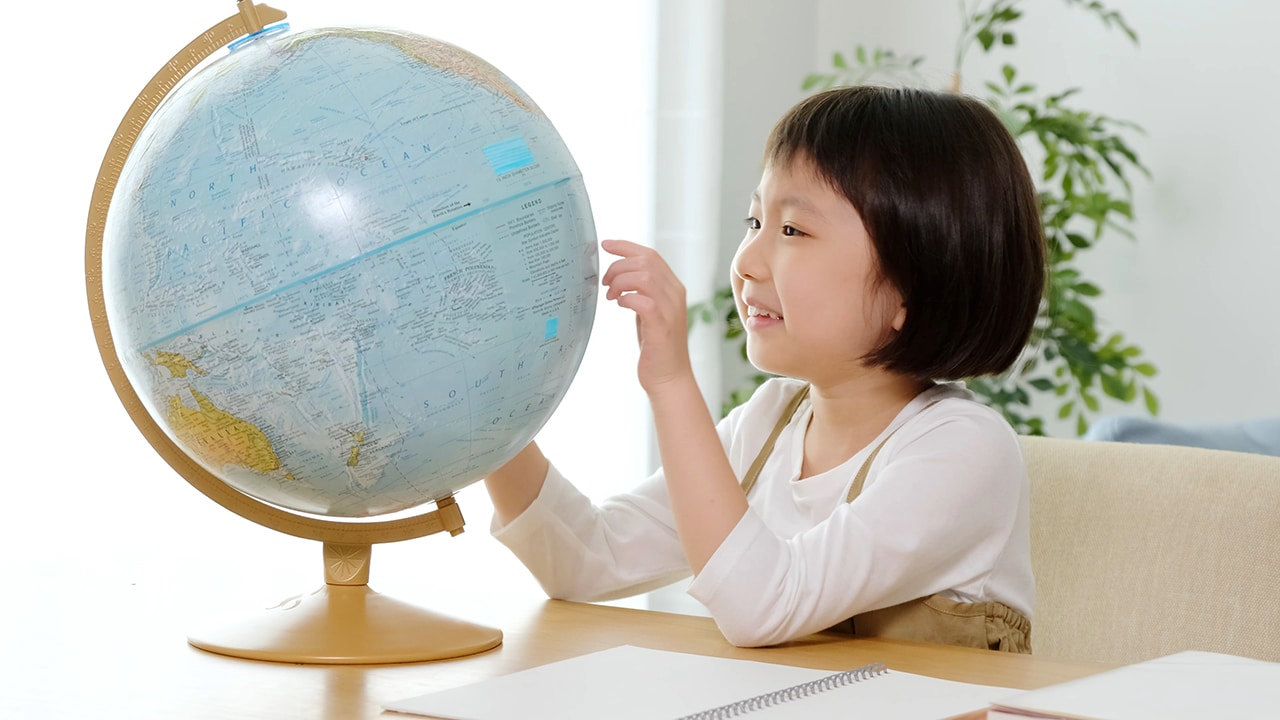 Learning Chinese from a native Chinese speaking teacher helps kids form an international mindset and cultural awareness