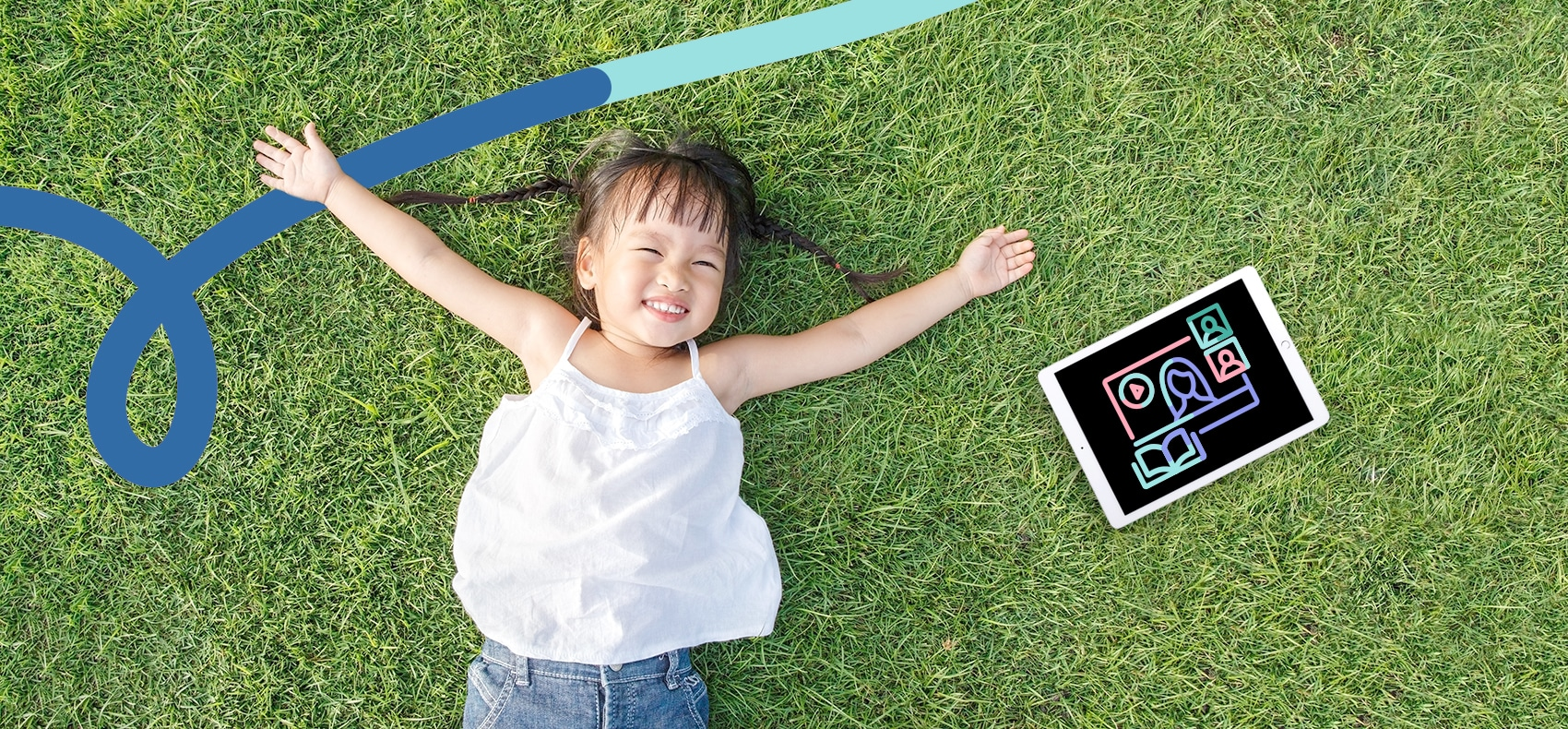 Apart from the screen time from learning, children should have more time to relax and go outdoors