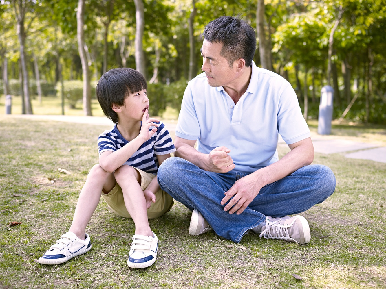 Help your child talk through their difficulty in learning Chinese